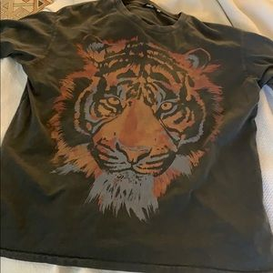 Wrangler tiger shirt dress